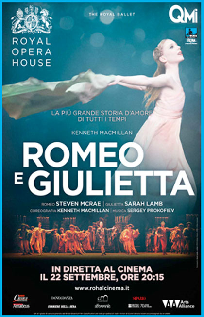 Royal Opera House: Romeo e Giulietta in streaming & download