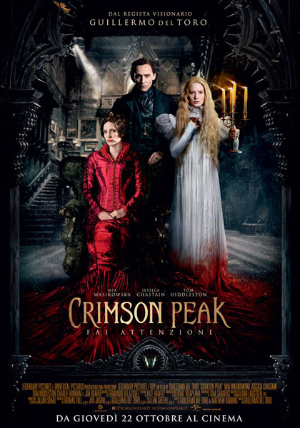Crimson Peak in streaming & download