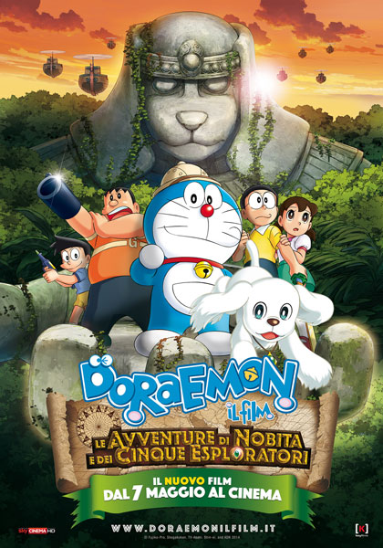 Doraemon: Il Film – Le avventure di Nobita e dei cinque esploratori in streaming & download