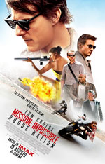 Locandina italiana Mission: Impossible - Rogue Nation