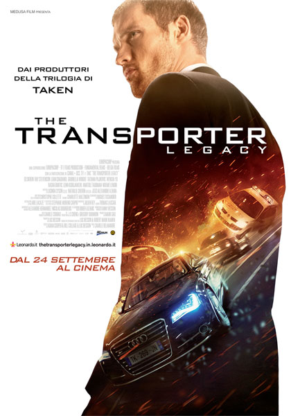 Locandina The Transporter Legacy