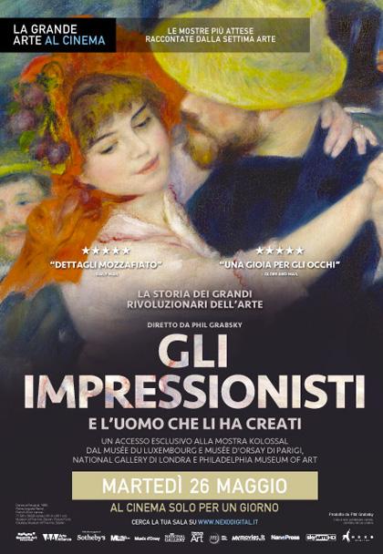 Gli impressionisti – E l'uomo che li ha creati in streaming & download