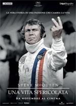 Locandina Steve McQueen - Una vita spericolata