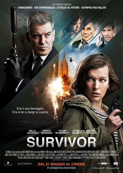 Survivor in streaming & download