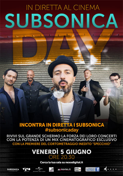 Subsonica Day in streaming & download