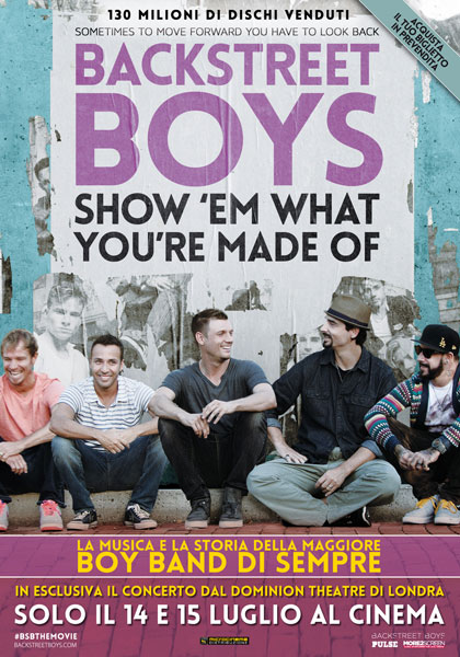 Backstreet Boys: Show 'em What You're Made Of in streaming & download
