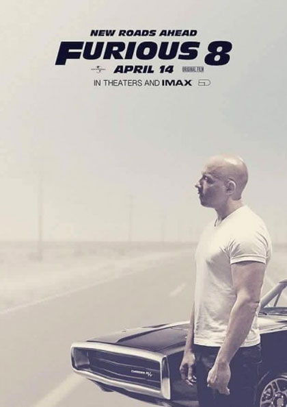 Poster Fast & Furious 8