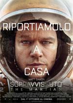 Poster Sopravvissuto - The Martian  n. 2