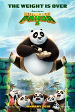 Poster Kung Fu Panda 3  n. 1