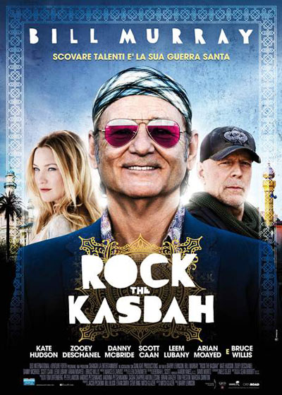 Locandina italiana Rock the Kasbah