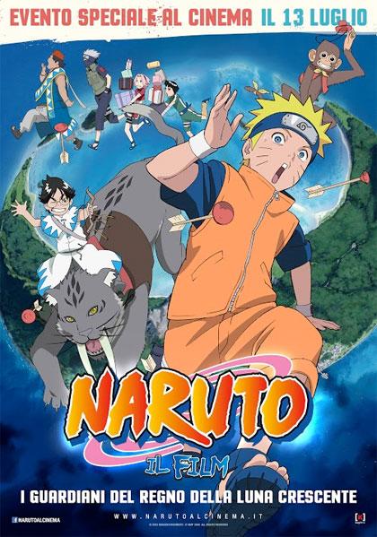 Naruto: Il Film – I guardiani del regno della luna crescente in streaming & download