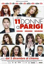Locandina italiana 11 donne a Parigi