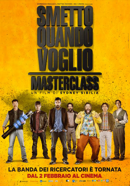 Smetto Quando Voglio - Masterclass (2017) MD MP3 HDCAM 720p MKV - ITA