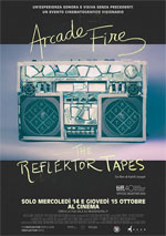 Locandina Arcade Fire: The Reflektor Tapes