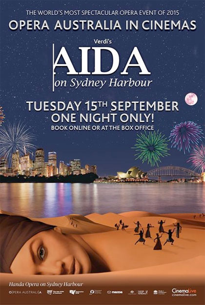Aida On Sydney Harbour in streaming & download