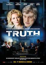 Locandina italiana Truth - Il prezzo della verit�