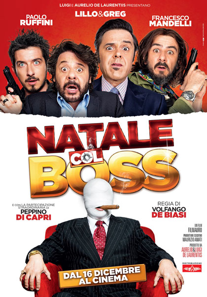 Natale col boss in streaming & download