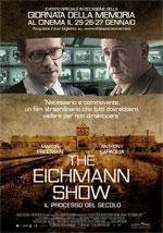 Locandina italiana The Eichmann Show