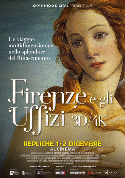 Firenze e gli Uffizi 3D/4K in streaming & download