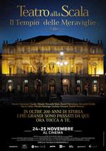 Locandina Teatro alla Scala - Il tempio delle meraviglie