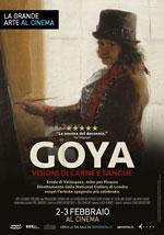 Locandina Goya - Visioni di carne e sangue