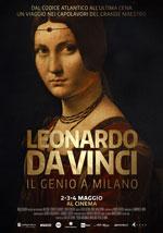 Locandina Leonardo da Vinci - Il genio a Milano