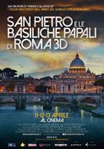 Locandina San Pietro e le Basiliche Papali di Roma 3D