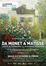 Locandina Da Monet a Matisse, l'arte di dipingere il giardino moderno