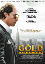 Locandina italiana Gold - La grande truffa