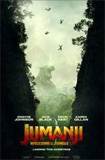 Poster Jumanji: Benvenuti nella giungla  n. 1