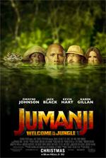 Poster Jumanji: Benvenuti nella giungla  n. 2