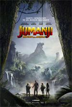 Poster Jumanji: Benvenuti nella giungla  n. 3