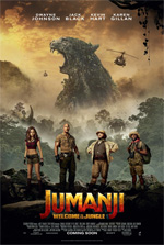 Poster Jumanji: Benvenuti nella giungla  n. 4