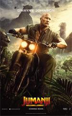 Poster Jumanji: Benvenuti nella giungla  n. 5