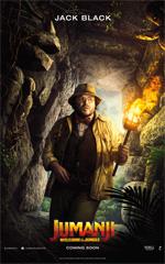 Poster Jumanji: Benvenuti nella giungla  n. 6