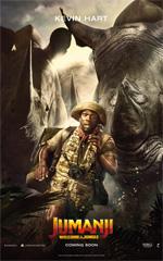 Poster Jumanji: Benvenuti nella giungla  n. 8