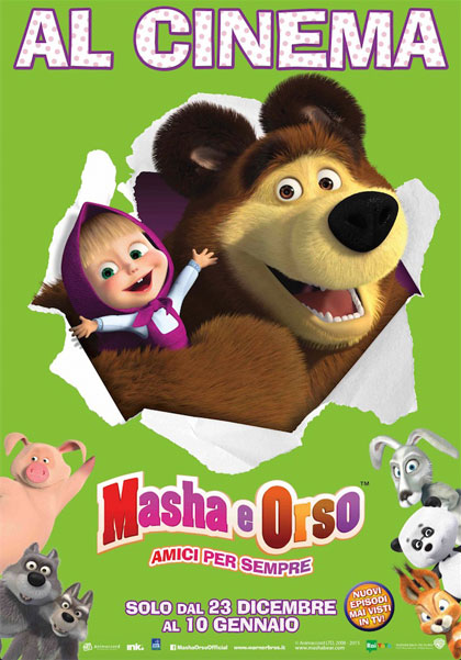 Locandina Masha e Orso - Amici per sempre