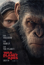 Poster The War - Il pianeta delle scimmie  n. 2