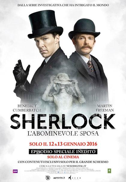 Locandina Sherlock - L'abominevole sposa