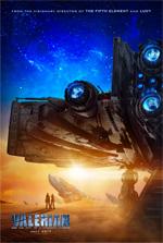 Poster Valerian e la città dei mille pianeti  n. 1
