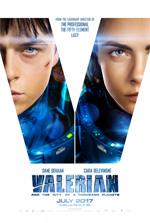 Poster Valerian e la città dei mille pianeti  n. 2