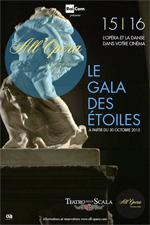 Locandina Teatro alla Scala di Milano: Gala des Ètoiles