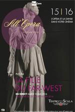 Locandina Teatro alla Scala di Milano: La Fanciulla del West