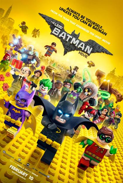 Poster Lego Batman - Il film