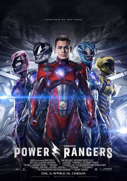 Locandina italiana Power Rangers