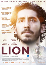 Locandina italiana Lion - La strada verso casa