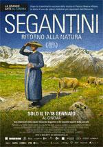 Locandina Segantini - Ritorno alla Natura