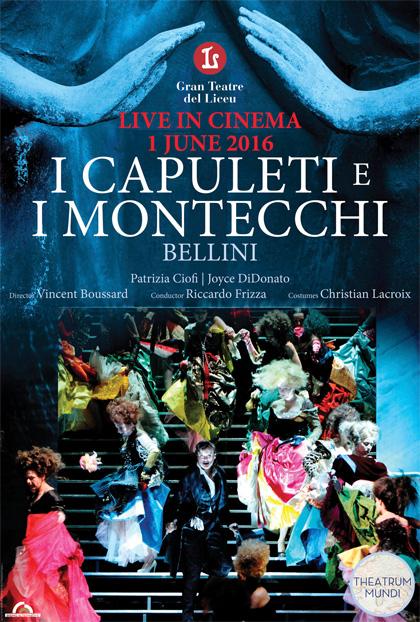 Teatro Gran Liceu di Barcellona: I Capuleti e i Montecchi