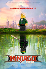 Poster Lego Ninjago - Il film  n. 2