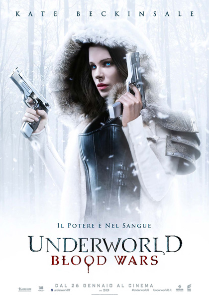 Locandina italiana Underworld - Blood Wars